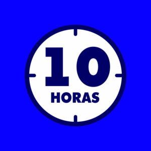 10 horas de serviços