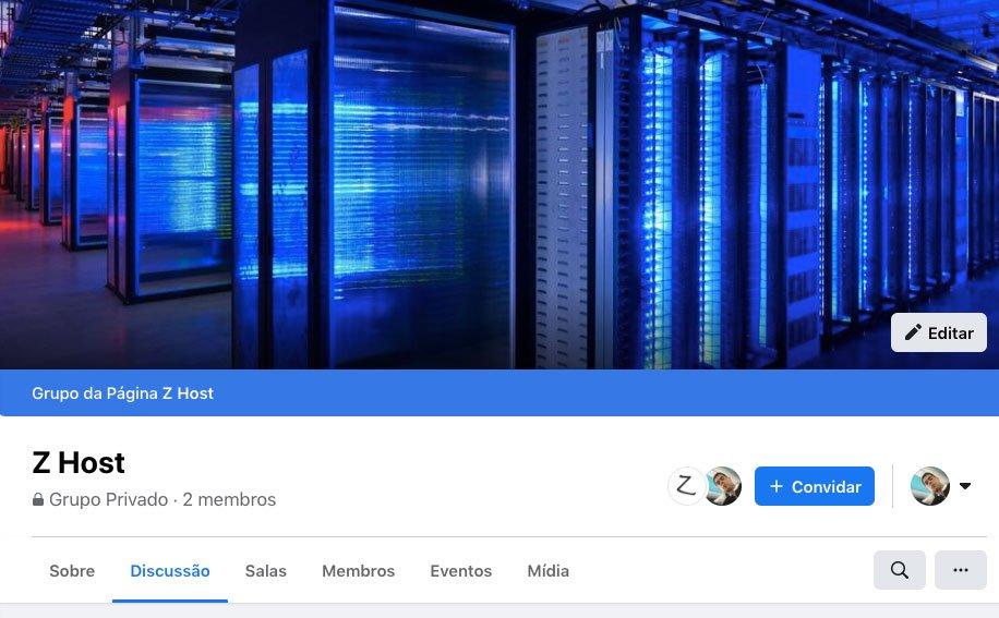 Grupo Facebook para iniciantes em WordPress